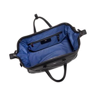 63834f9a55 Lenox Leather Duffel in Black