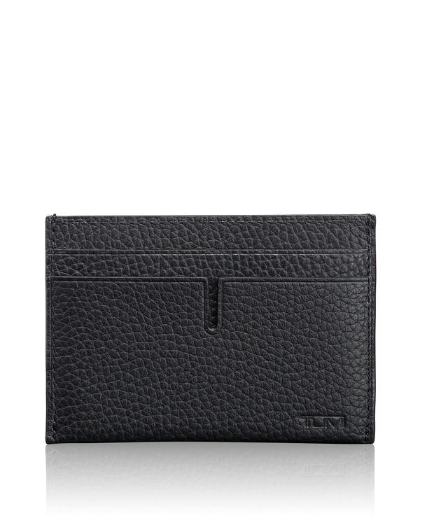 Slim Card Case in Matte Black
