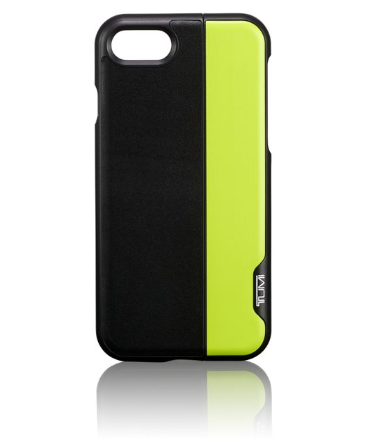 Horizontal Slider iPhone 8 in Black/Citron