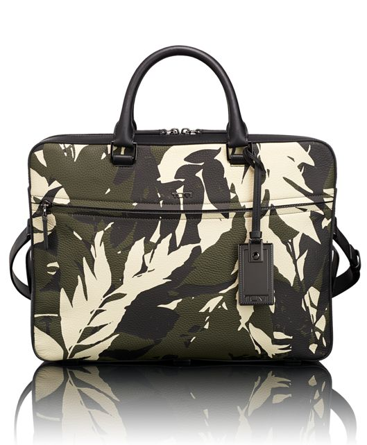 Bradmoor Slim Brief in Fern Print