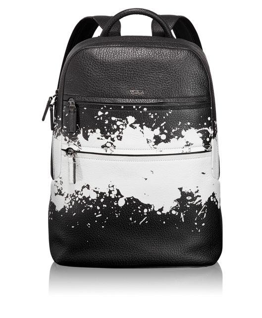Alcott Backpack in Splatter Stripe