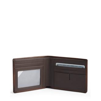 GLOBAL DOUBLE BILLFOLD Brown - medium | Tumi Thailand