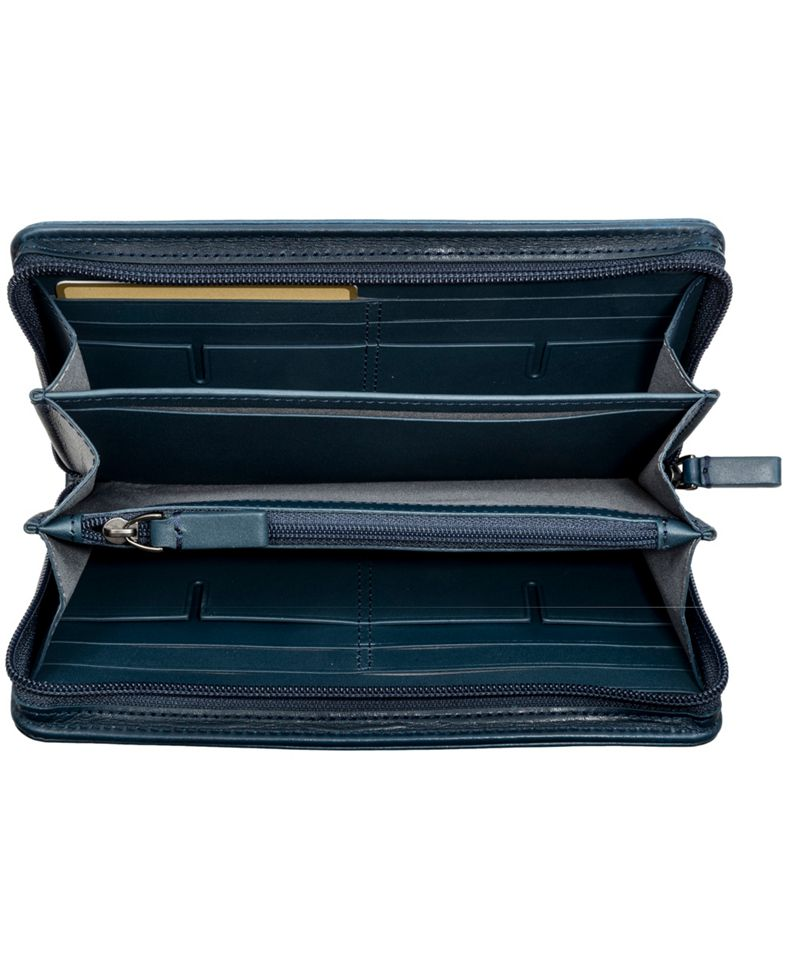Zip-Around Travel Wallet