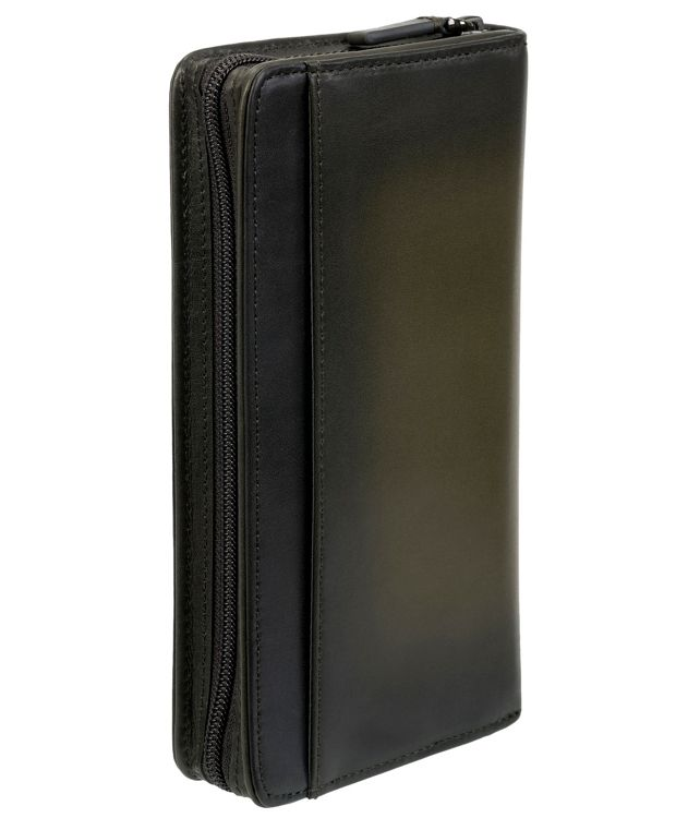Zip-Around Travel Wallet