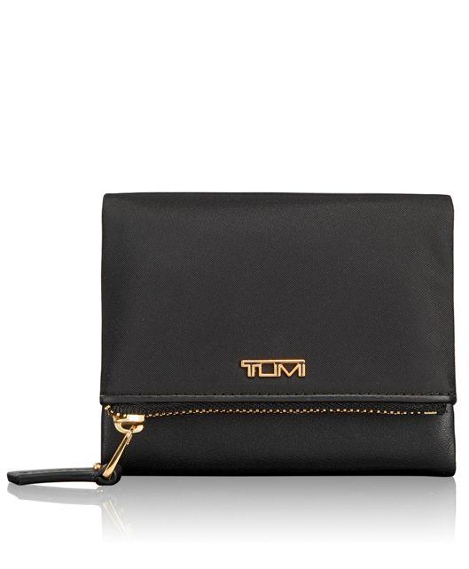 Flap Card Case in Black