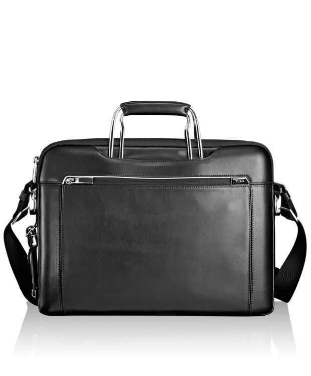 Hamilton Leather Brief in Black