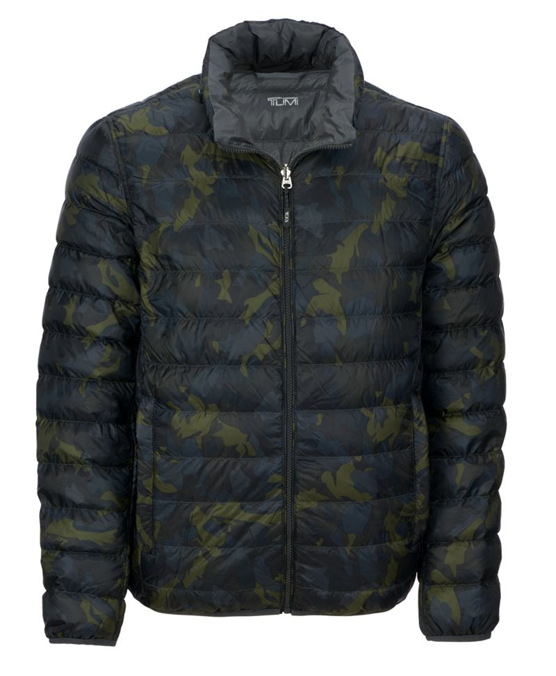 Patrol Reversible Packable Travel Puffer Jacket