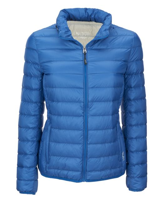 Women's - Clairmont Packable Travel Puffer Jacket in Laguna