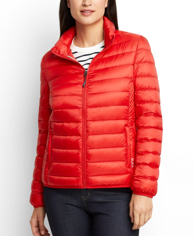 Women's - Clairmont Packable Travel Puffer Jacket in Sunset
