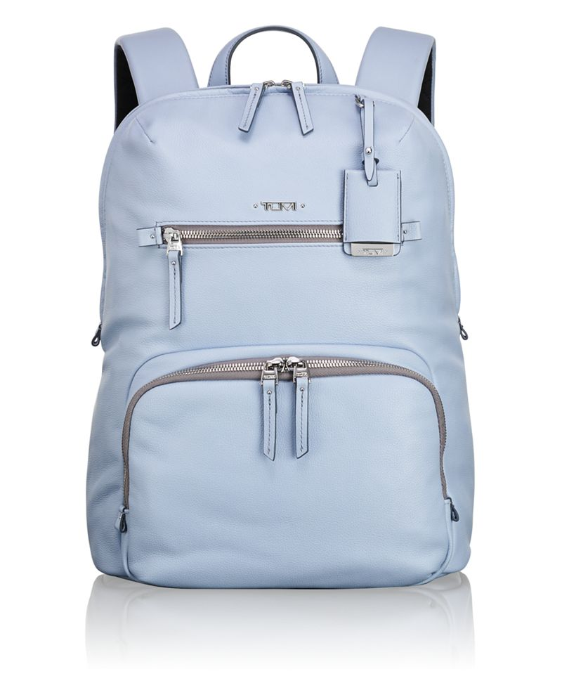 Halle Leather Backpack