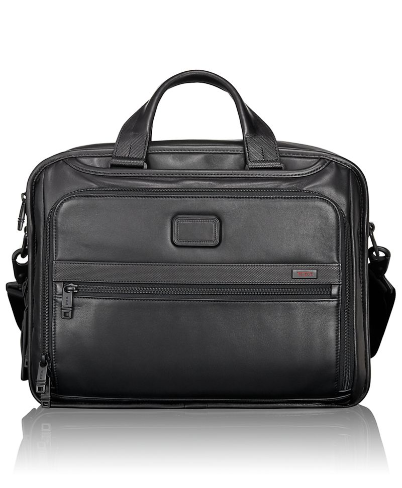 Organizer Leather Brief