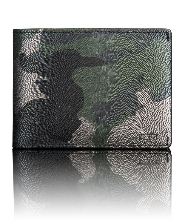 TUMI ID Lock™ Double Billfold in Tundra Camo