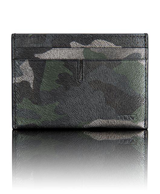 TUMI ID Lock™ Slim Card Case in Tundra Camo
