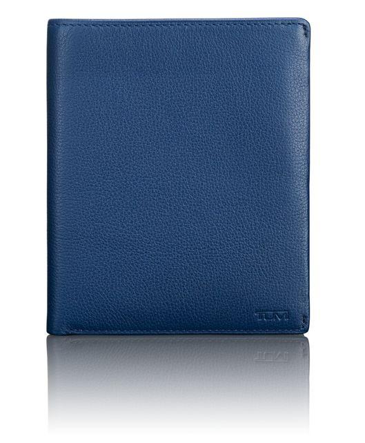 TUMI ID Lock™ Passport Case in Ocean Blue Textured