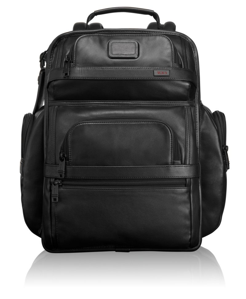 TUMI T-Pass® Business Class Leather Brief Pack®