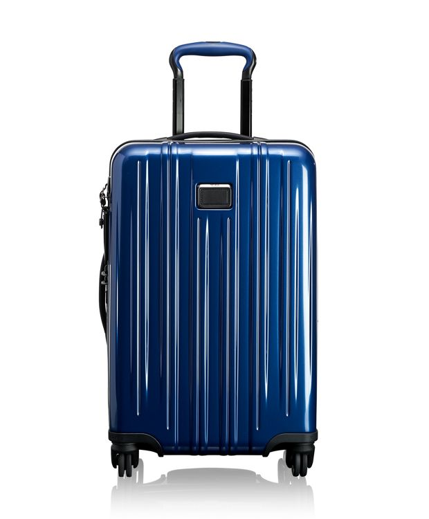 International Expandable Carry-On in Deep Blue