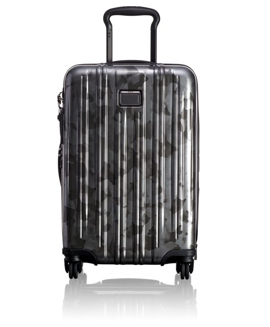International Expandable Carry-On in Galvanized Silver