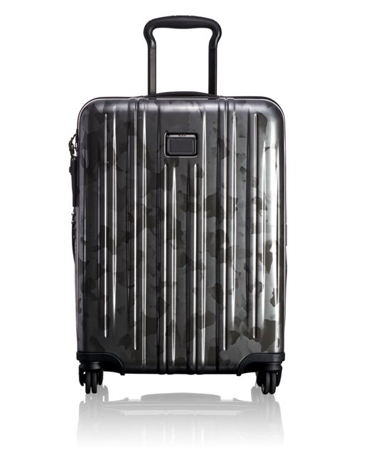 Continental Expandable Carry-On in Galvanized Silver