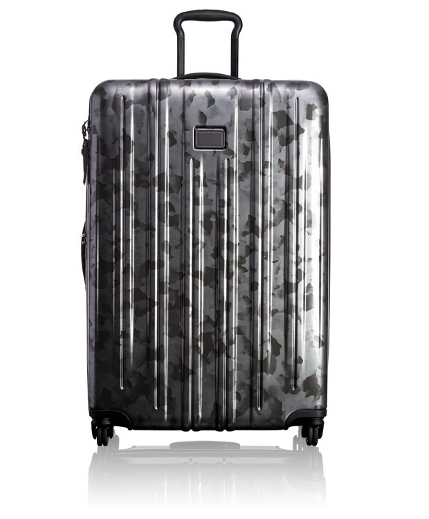 Extended Trip Expandable Packing Case in Galvanized Silver