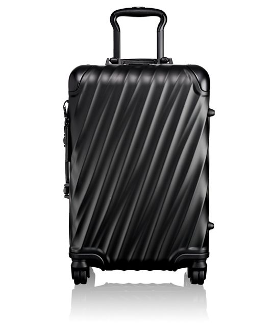 International Carry-On in Black/Silver