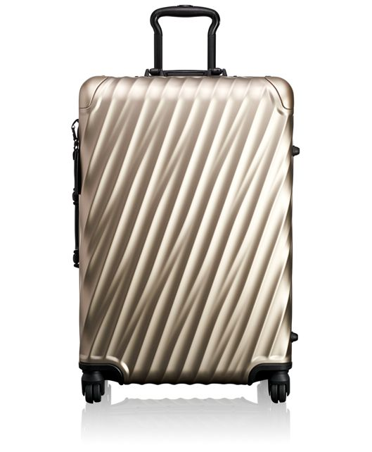 Short Trip Packing Case in Ivory Gold