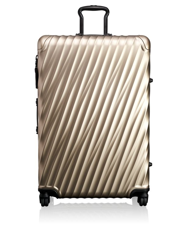 Extended Trip Packing Case in Ivory Gold