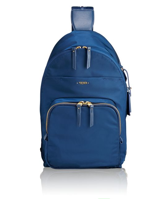 Nadia Convertible Backpack/Sling in Ocean Blue