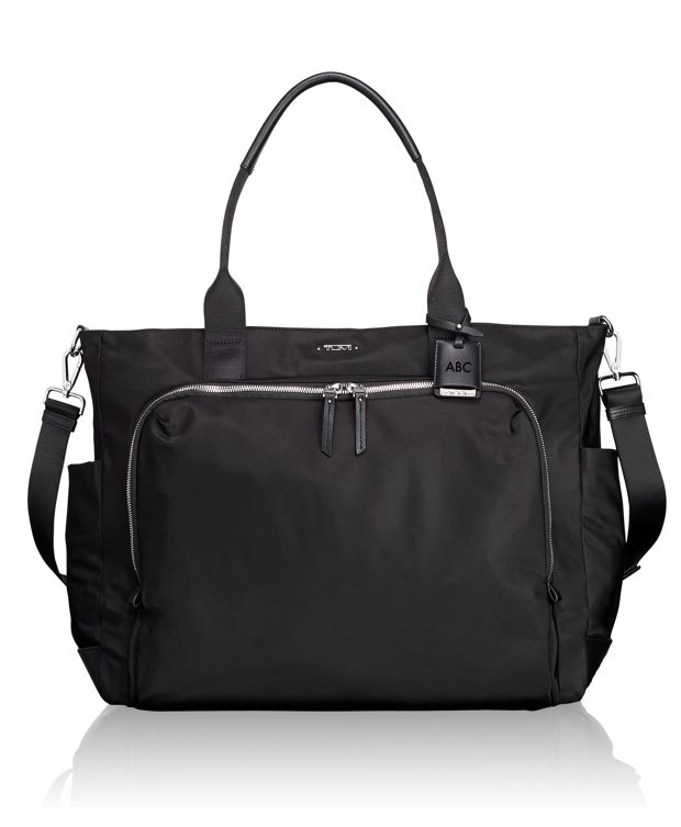 Mansion Carry-All in Black/Silver