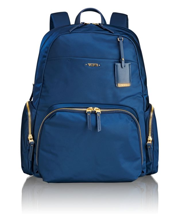 Calais Backpack in Ocean Blue