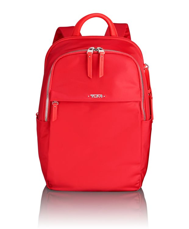 Daniella Small Backpack in Hot Pink