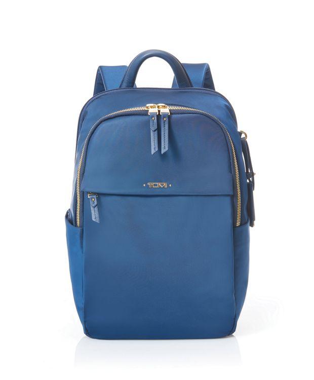 Daniella Small Backpack in Ocean Blue