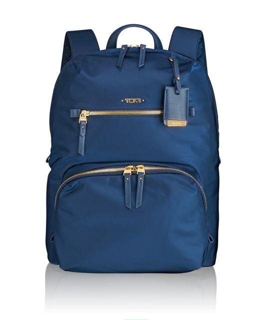 Halle Backpack in Ocean Blue