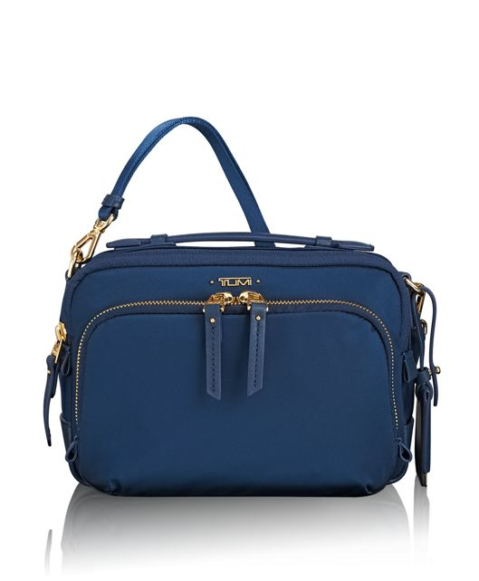 Luanda Flight Bag in Ocean Blue