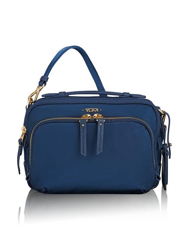 Luanda Flight Bag in Ocean Blue