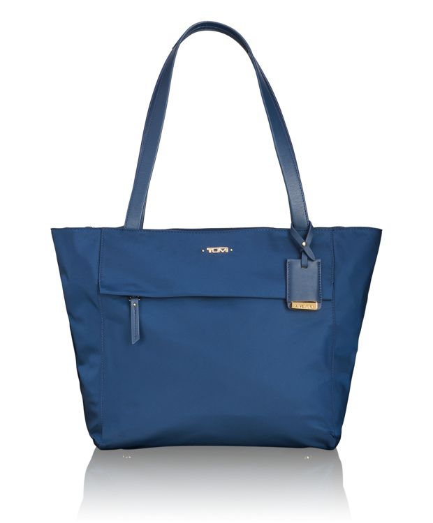Small M-Tote in Ocean Blue