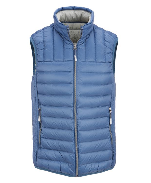 TUMI PAX Men's Vest in Denim
