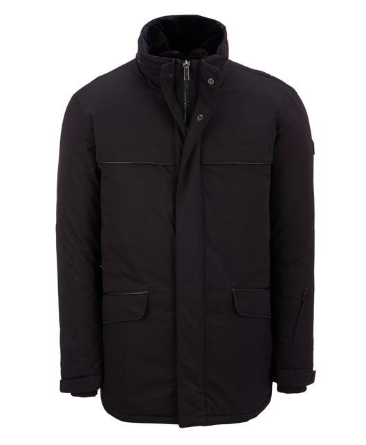 Roadster Luxe Anorak in Black
