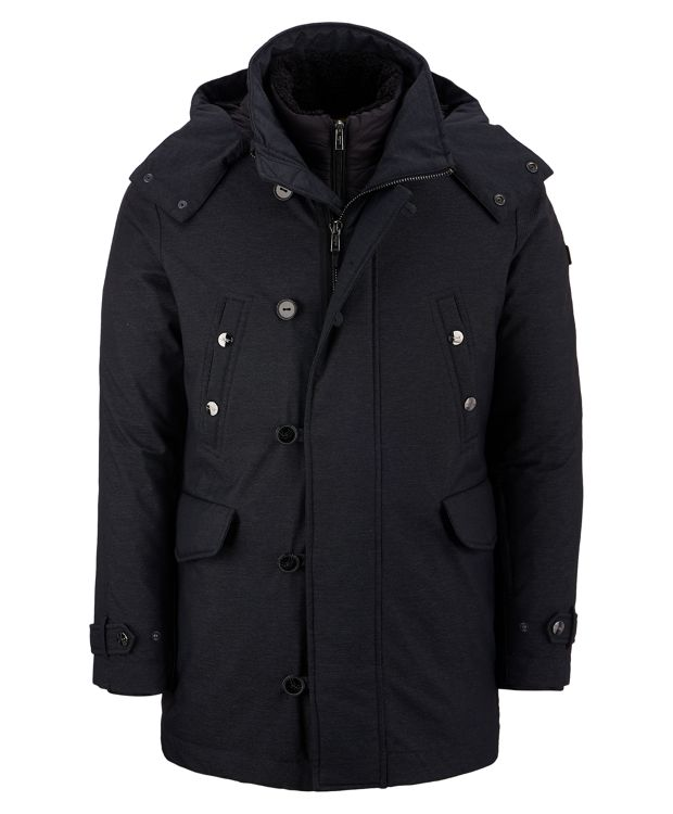3-in-1 Traveler Parka in Charcoal