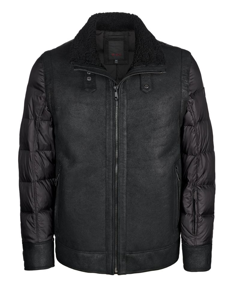 TUMI Shearling Flight Jacket