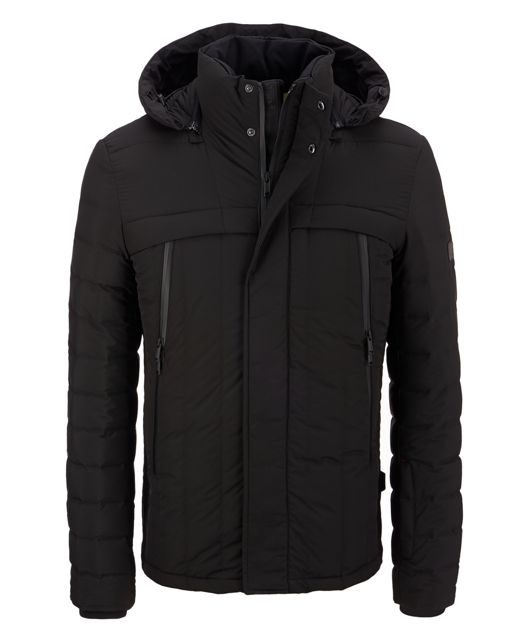 Seamless Down Jacket in Black