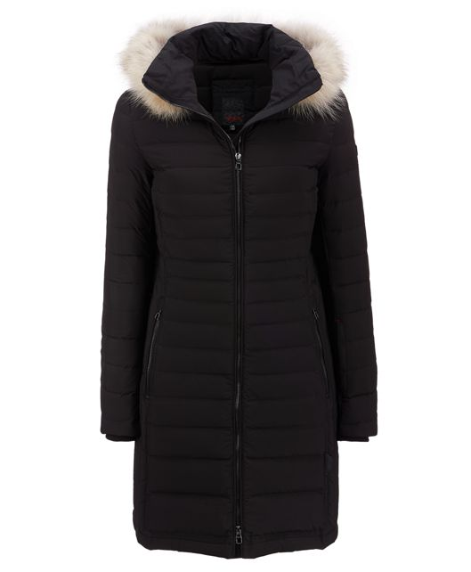 Women's - Seamless Down Walker Jacket in Black