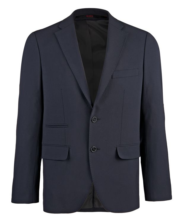 Classic Travel Blazer in Navy
